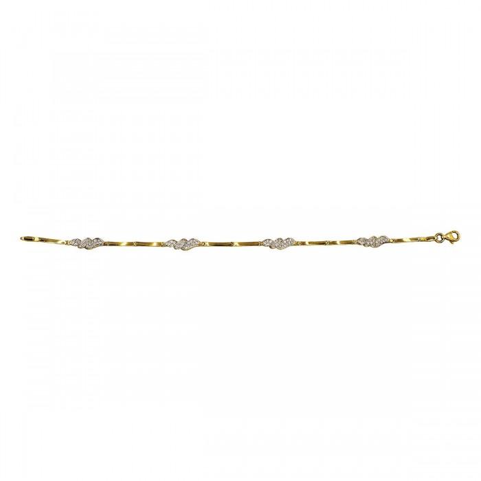 Βραχιόλι χρυσό 14Κ - BR1092
