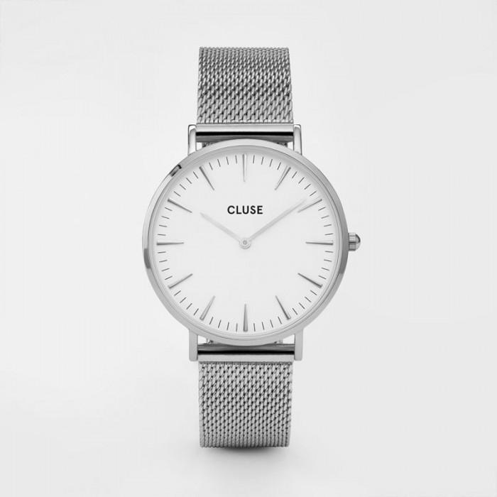 CLUSE Boho Chic mesh silver/white - CL18105