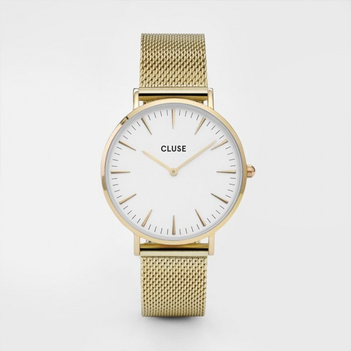 CLUSE Boho Chic mesh gold/white - CL18109