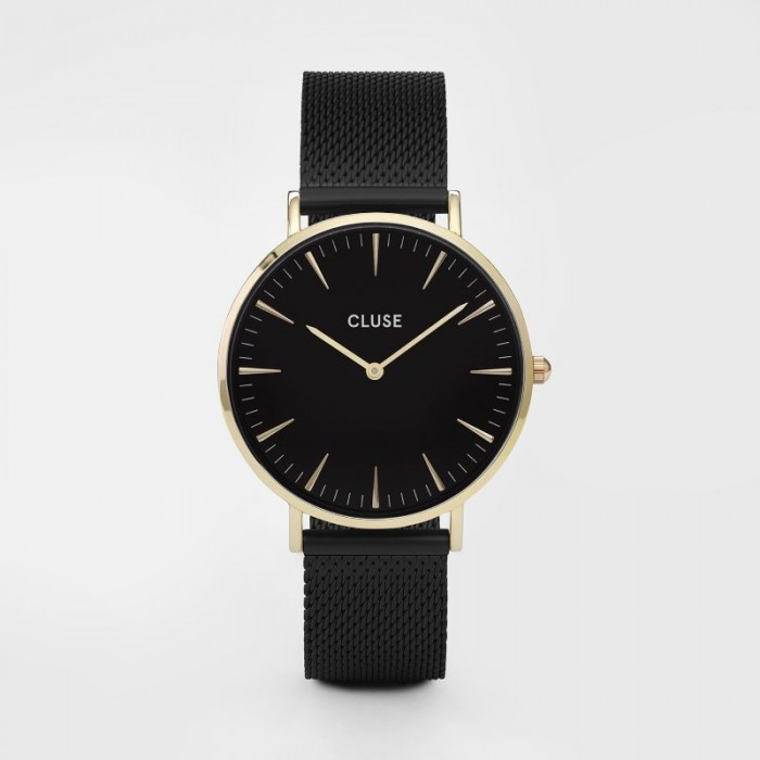 CLUSE Boho Chic mesh gold black/black - CL18117