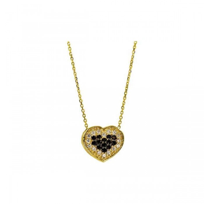 Κολιέ καρδιά χρυσό 14Κ - K1046