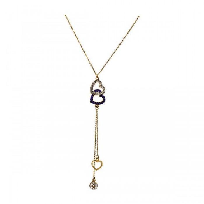 Κολιέ γραβάτα χρυσό 14Κ - K1089
