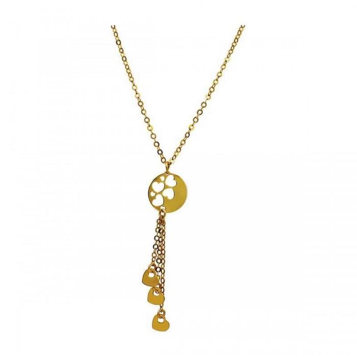 Κολιέ γραβάτα χρυσό 14Κ - K1098