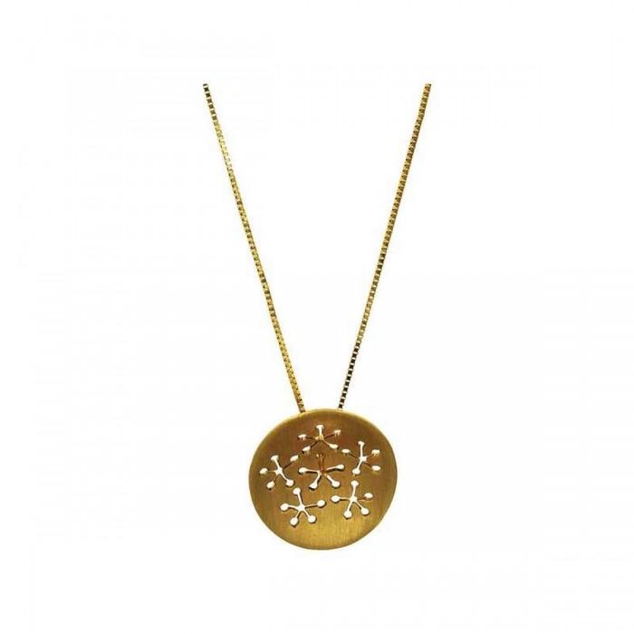 Μενταγιόν χρυσό 14Κ - K1169