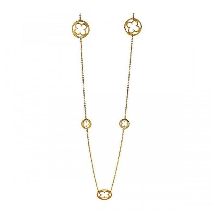 Κολιέ βανκλίφ χρυσό 14Κ - K1174