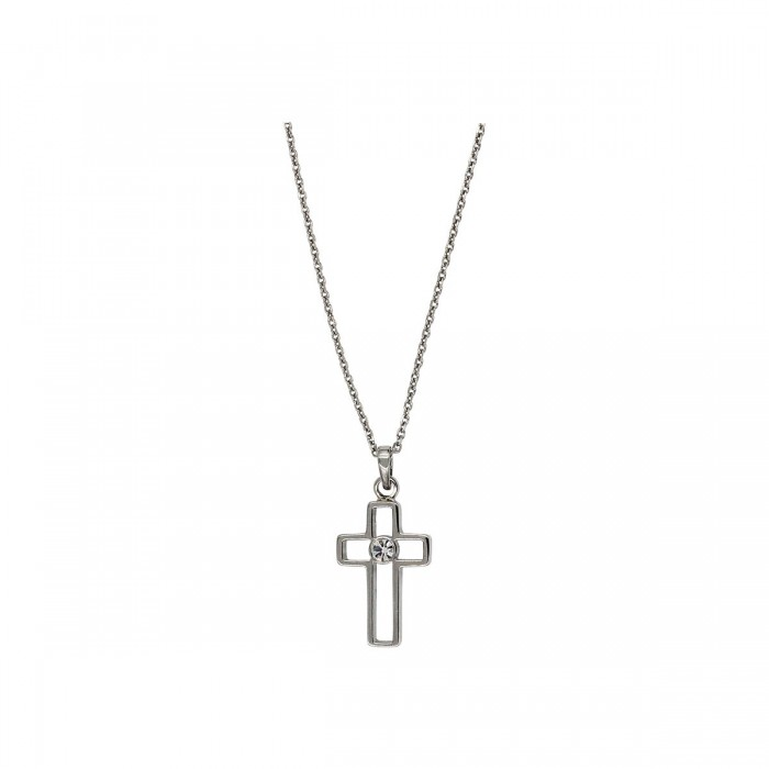 Lotus Style γυναικείος σταυρός ατσάλινος - LS1985-1/1