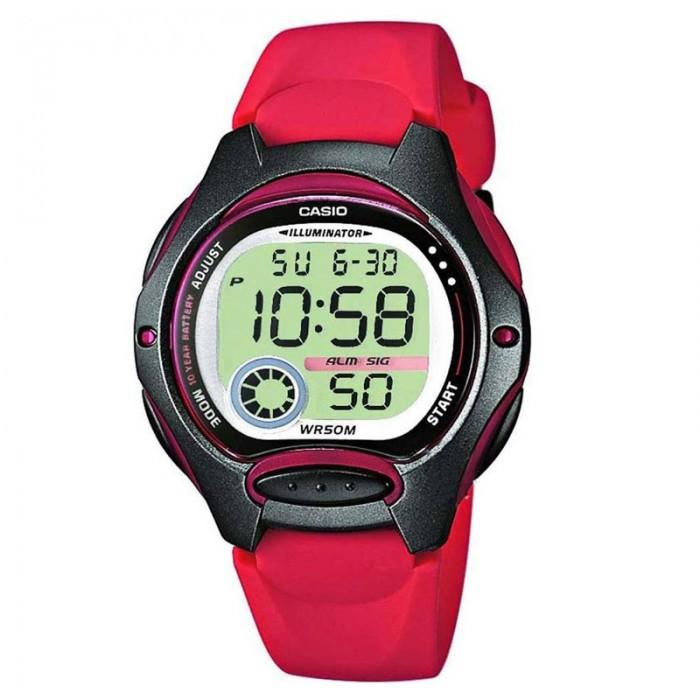 CASIO Digital red LW-200-4AVEF