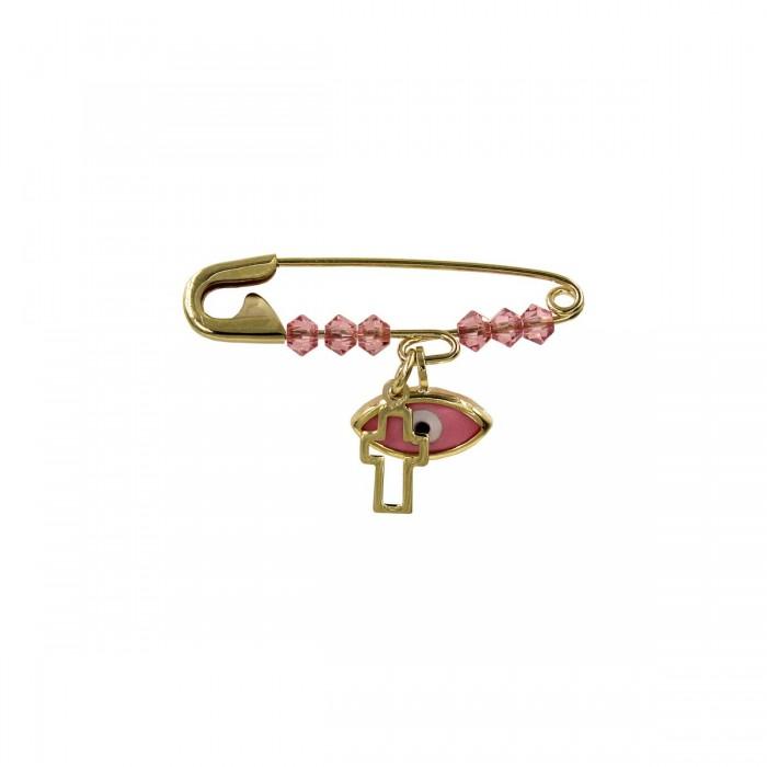 Παραμάνα κοριτσίστικη χρυσή 9Κ - P1019