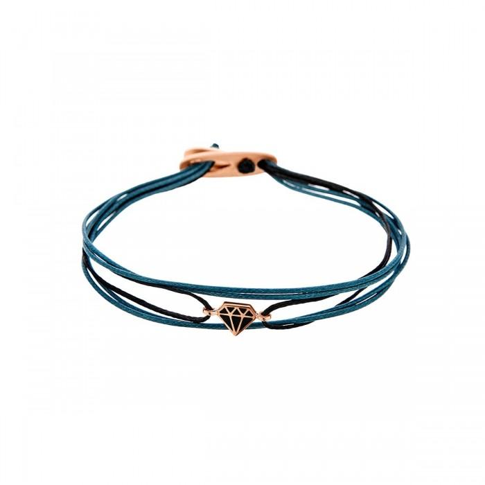 Pink Diamond Bracelet Silver - SB97PB