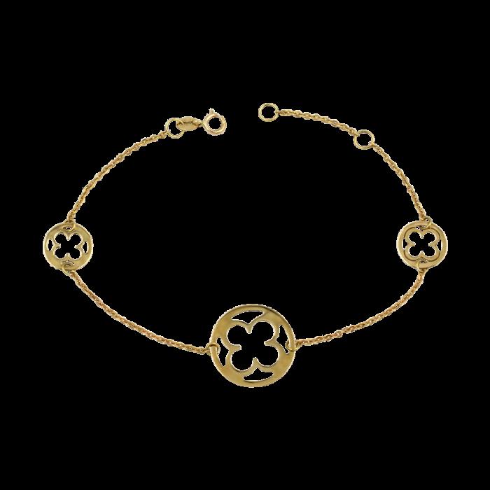 Βραχιόλι χρυσό 14Κ - BR1004