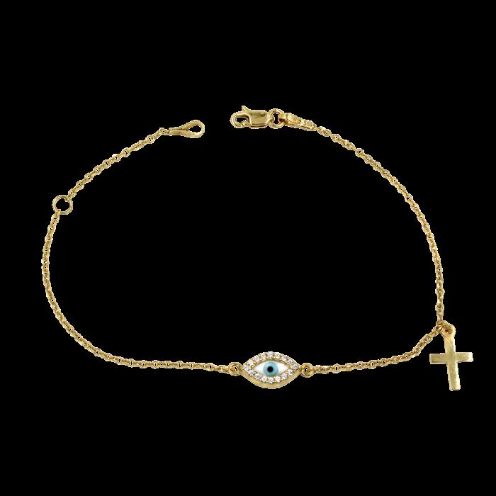 Βραχιόλι χρυσό 14Κ - BR1010