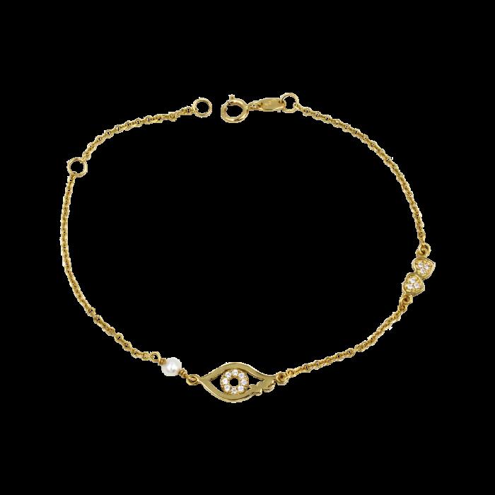 Βραχιόλι χρυσό 14Κ - BR1017