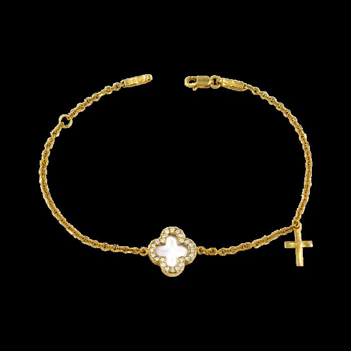Βραχιόλι χρυσό 14Κ - BR1060