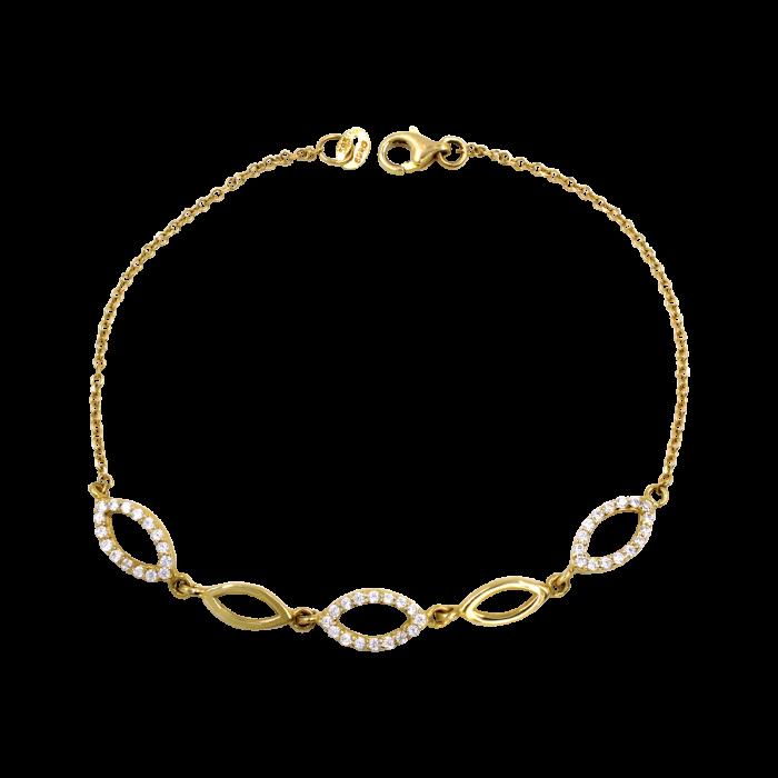Βραχιόλι χρυσό 14Κ - BR1078
