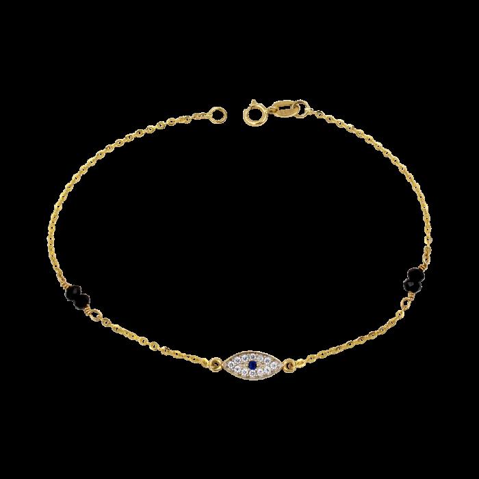 Βραχιόλι χρυσό 14Κ - BR1082