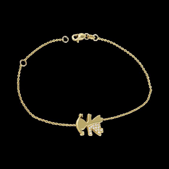 Χρυσό βραχιόλι 14Κ - PB1050