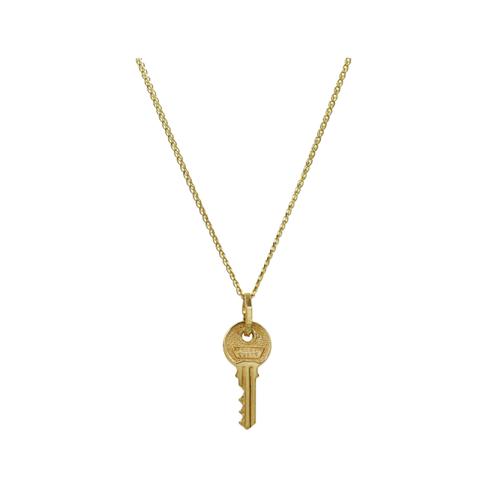 Κολιέ Κλειδί Χρυσό 14Κ - K1304