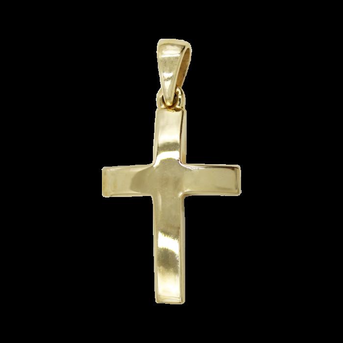 Ανδρικός χρυσός σταυρός 14Κ - ST1416