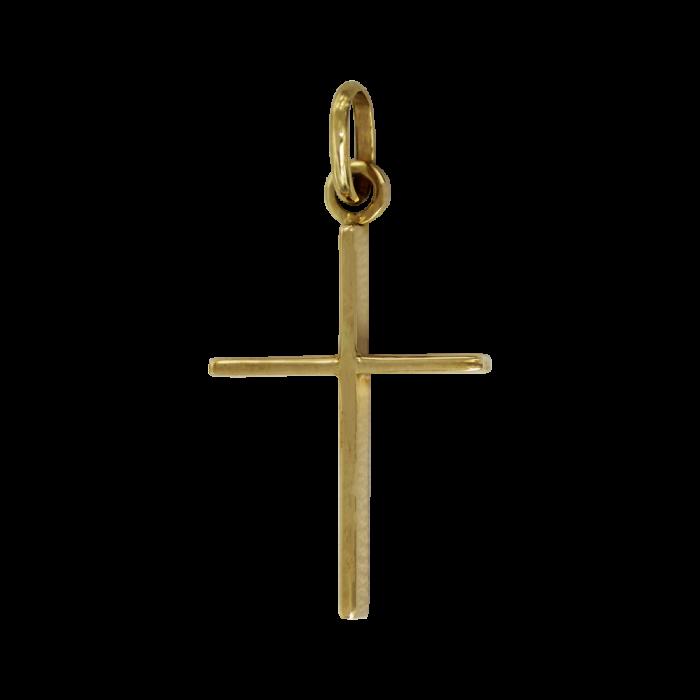 Χρυσός σταυρός 14Κ - ST1537
