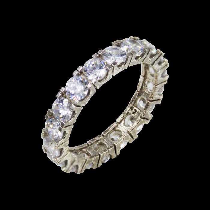 Δαχτυλίδι Ασημένιο All Around - SLV1026