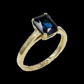 Δαχτυλίδι Χρυσό Με Ζιργκόν Πέτρα 14Κ - D52469_0