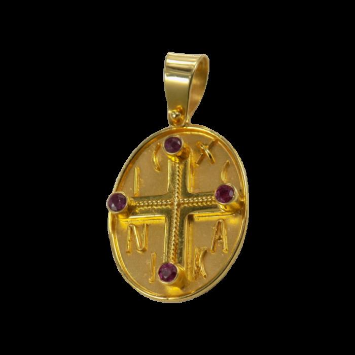Κωνσταντινάτο χρυσό 14Κ - PM1002