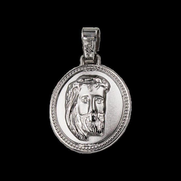 Κωνσταντινάτο - Ιησούς δίχρωμο 14Κ - PM1140
