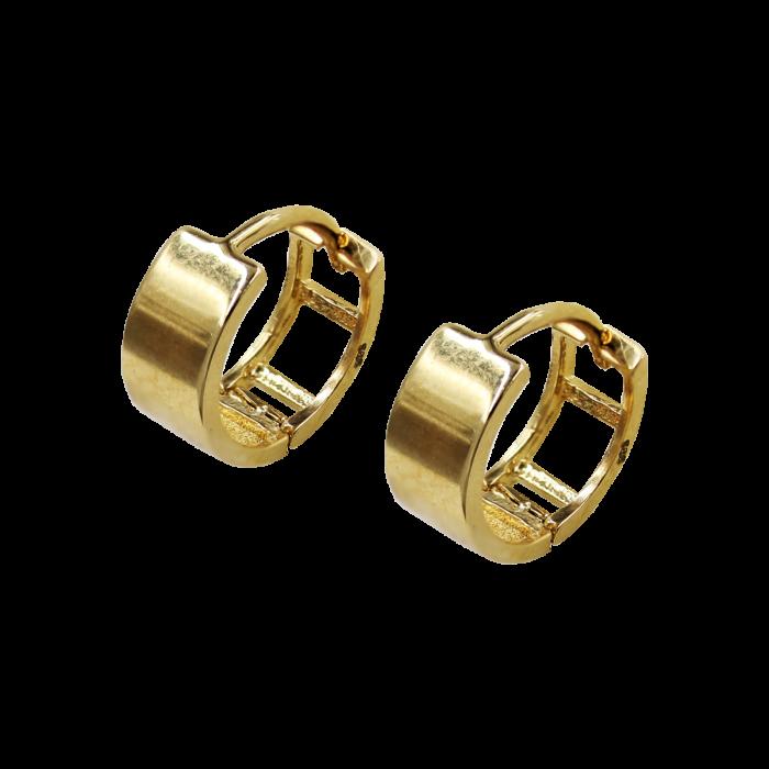 Σκουλαρίκια Κρίκοι Χρυσά 14Κ - SK1066