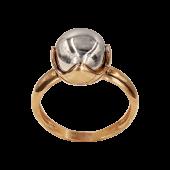 Δαχτυλίδι δίχρωμο 14Κ - D1048_0