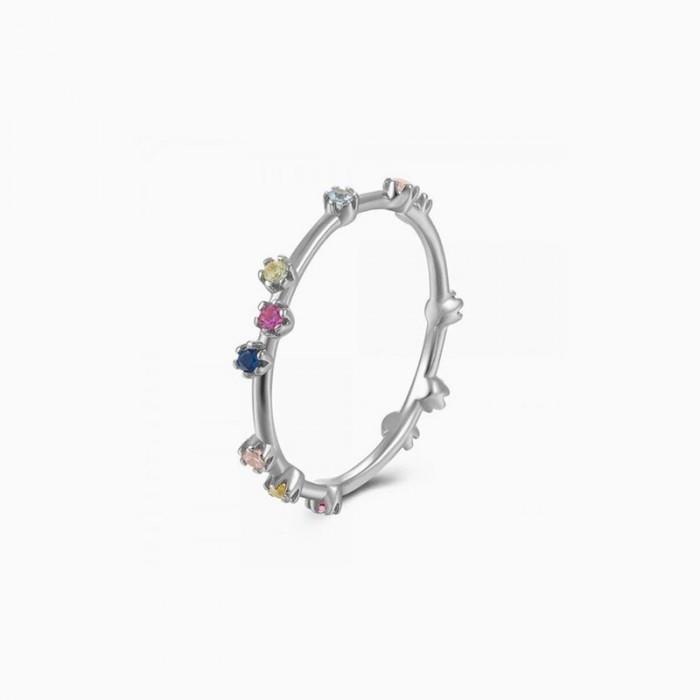 Δαχτυλίδι Honor Ασημένιο Colorful - 60101338100A-7