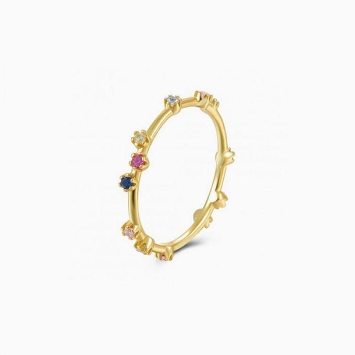 Δαχτυλίδι Honor Ασημένιο Colorful - 60101338100C-7