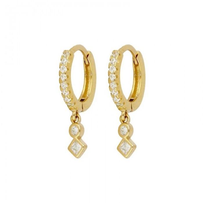 Σκουλαρίκια Honor Ασημένιο Mayfair - 60210101484C