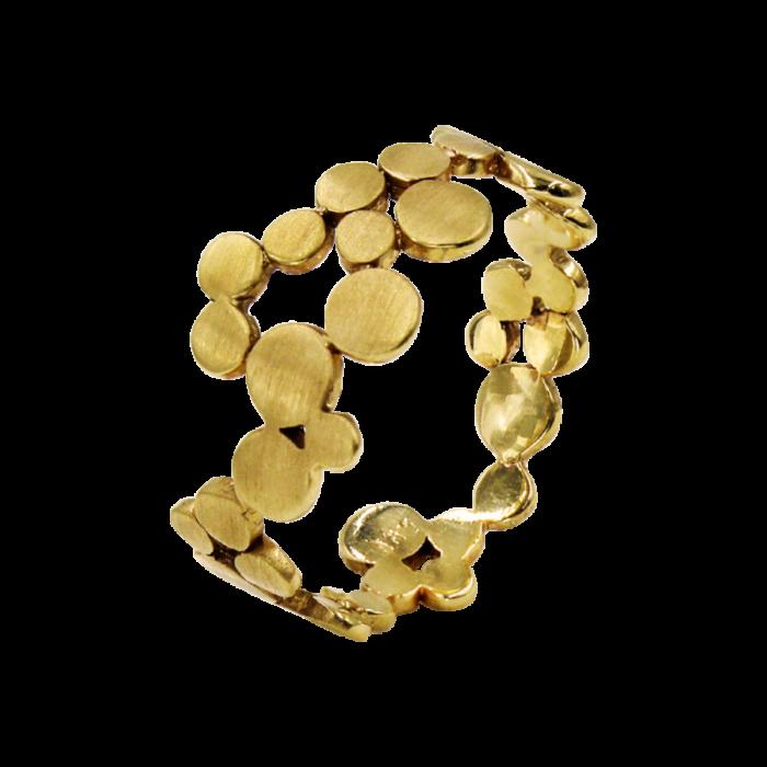 Δαχτυλίδι χρυσό 14Κ - D2007