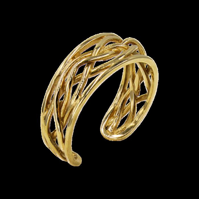 Δαχτυλίδι χρυσό 14Κ - D2094