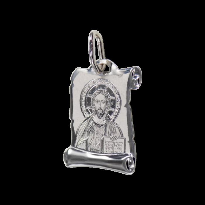 Ιησούς λευκόχρυσος 14Κ - PM1062