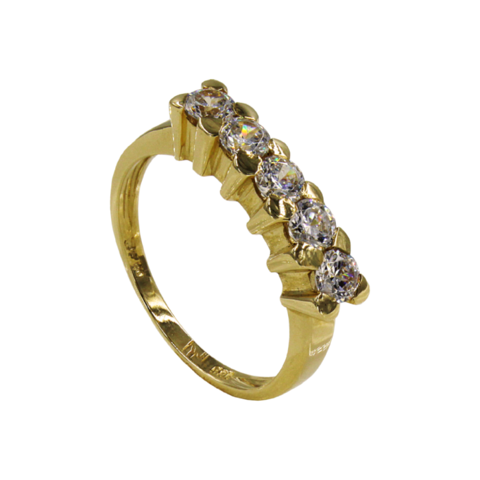 Σειρέ δαχτυλίδι χρυσό 14Κ - SD5050