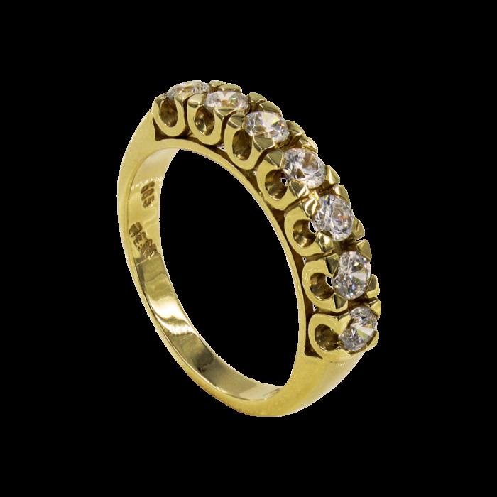 Σειρέ δαχτυλίδι χρυσό 14Κ - SD5167