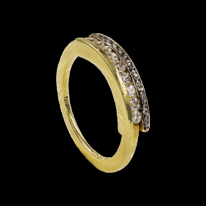 Σειρέ δαχτυλίδι χρυσό 14Κ - SD5467