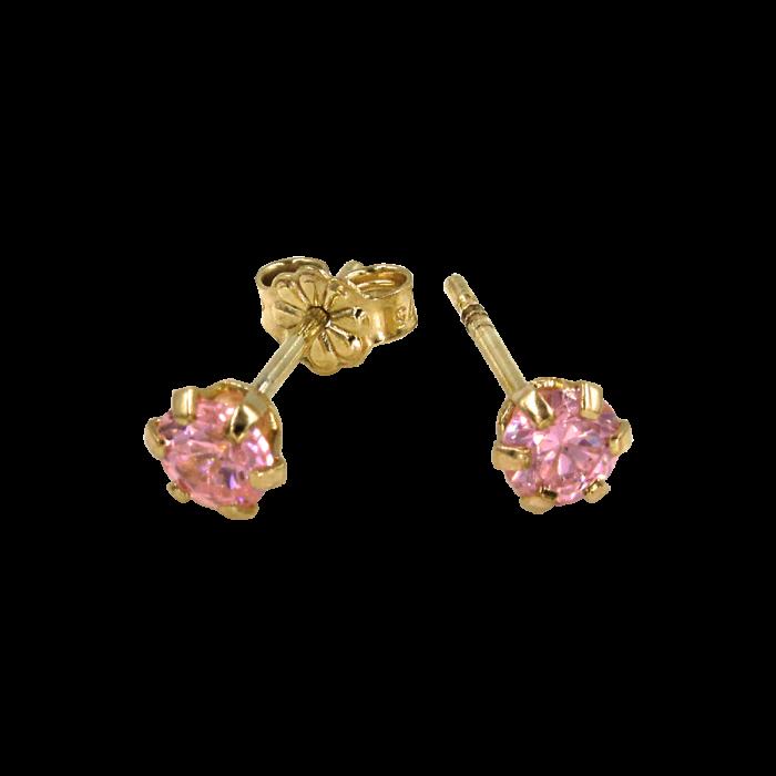 Παιδικά σκουλαρίκια χρυσά 9Κ - PSK1001