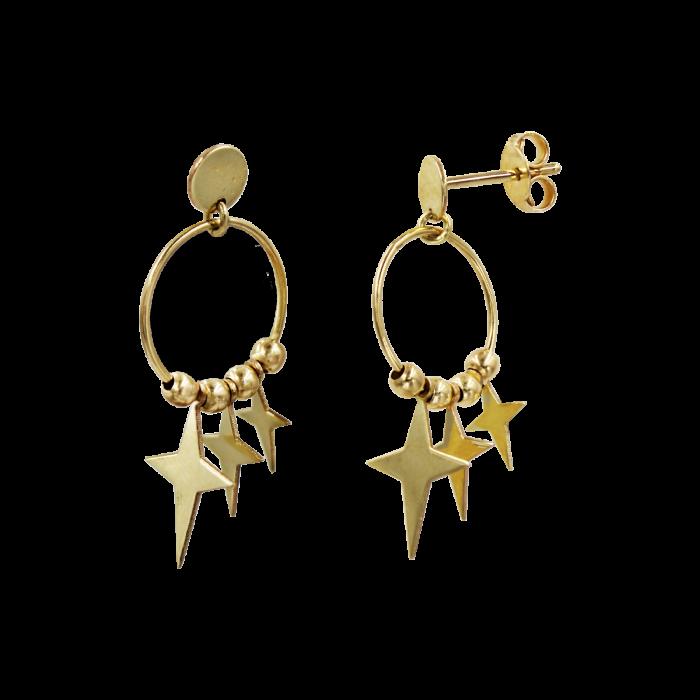 Σκουλαρίκια Κρεμαστά Χρυσά 14Κ - S1185