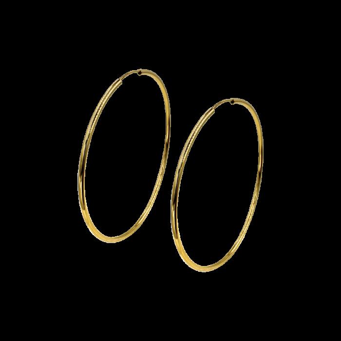 Σκουλαρίκια Κρίκοι χρυσά 14Κ - SK1002