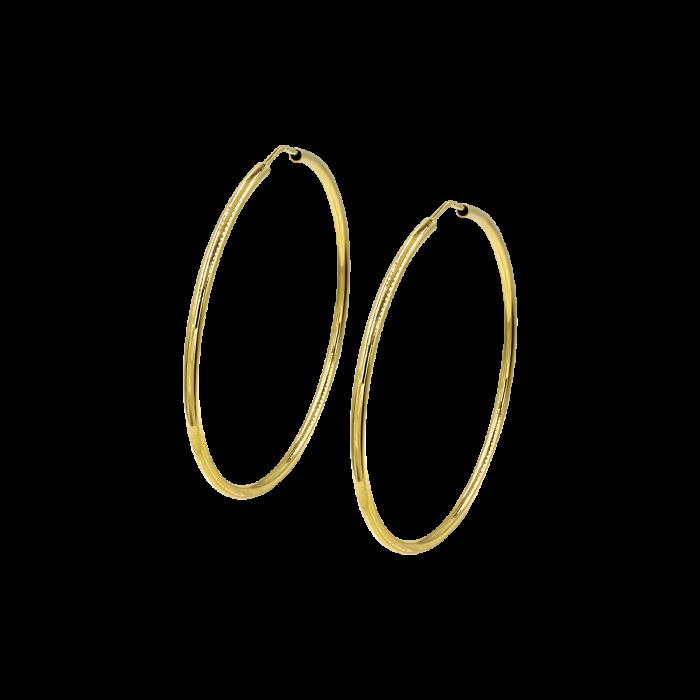 Σκουλαρίκια Κρίκοι χρυσά 14Κ - SK1003
