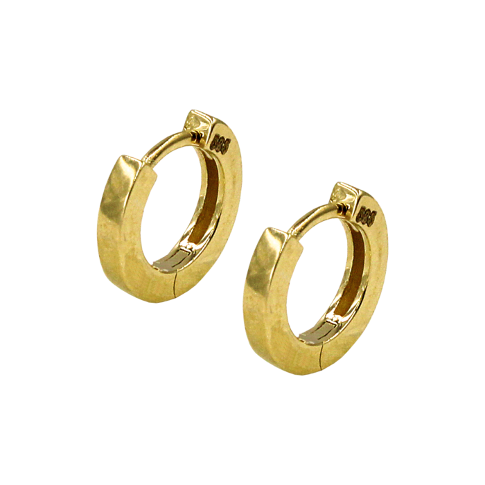 Σκουλαρίκια Κρίκοι χρυσά 14Κ - SK1047