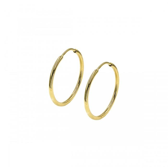 Σκουλαρίκια Κρίκοι Χρυσά 14Κ - SK1056