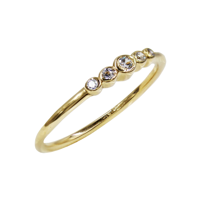 Δαχτυλίδι Χρυσό Με Ζιργκόν Πέτρα 14Κ - D1084