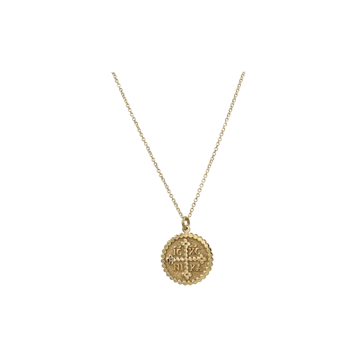 Κολιέ Φυλαχτό Χρυσό 9Κ - K1298
