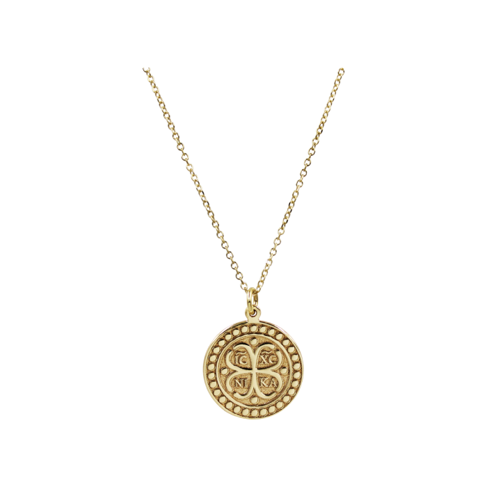 Κολιέ Φυλαχτό Χρυσό 9Κ - K1330