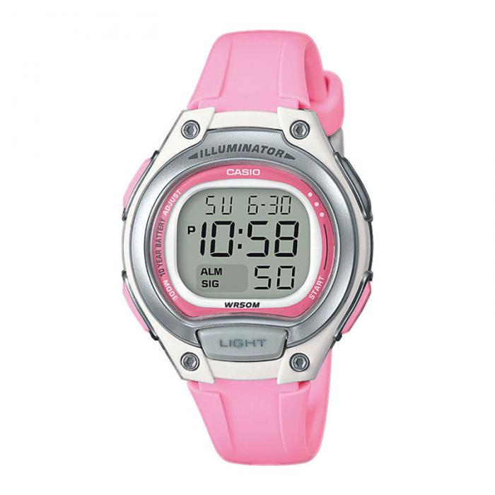 CASIO Digital Pink LW-203-4AVEF