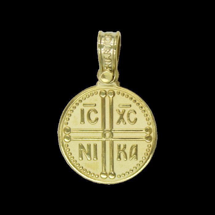Κωνσταντινάτο Χρυσό 14Κ Δύο Όψεων - PM1200